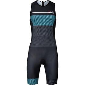 Santini Sleek 775 Traje Triatlón sin Mangas Hombre, azzurro
